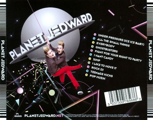 Planet Jedward Tracklisting
