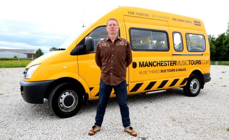 Craig Gill Tour Bus