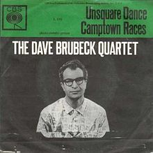 Dave_Brubeck_Quartet-Unsquare_Dance_single