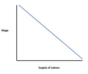 Demand Curve for Labour